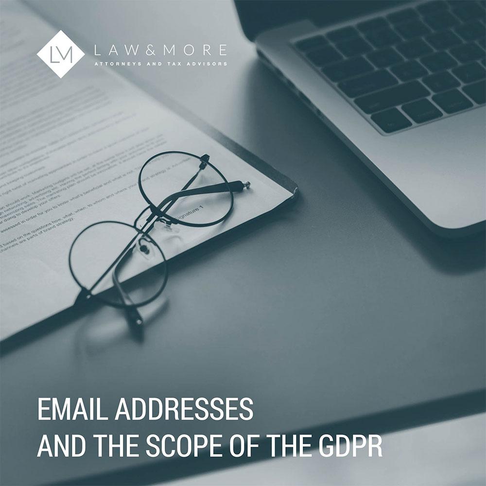 E-posta adresleri ve GDPR'nin kapsamı