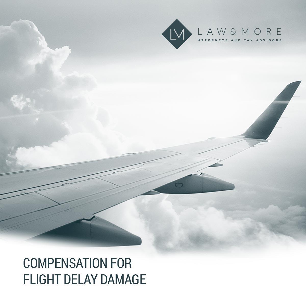 Uçuş gecikme hasarı için tazminat