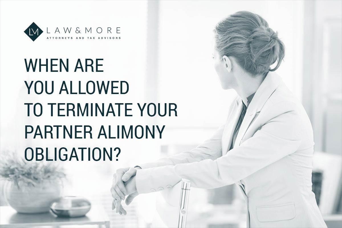 چه زمانی مجاز به فسخ تعهد نفقه شریک زندگی خود هستید؟