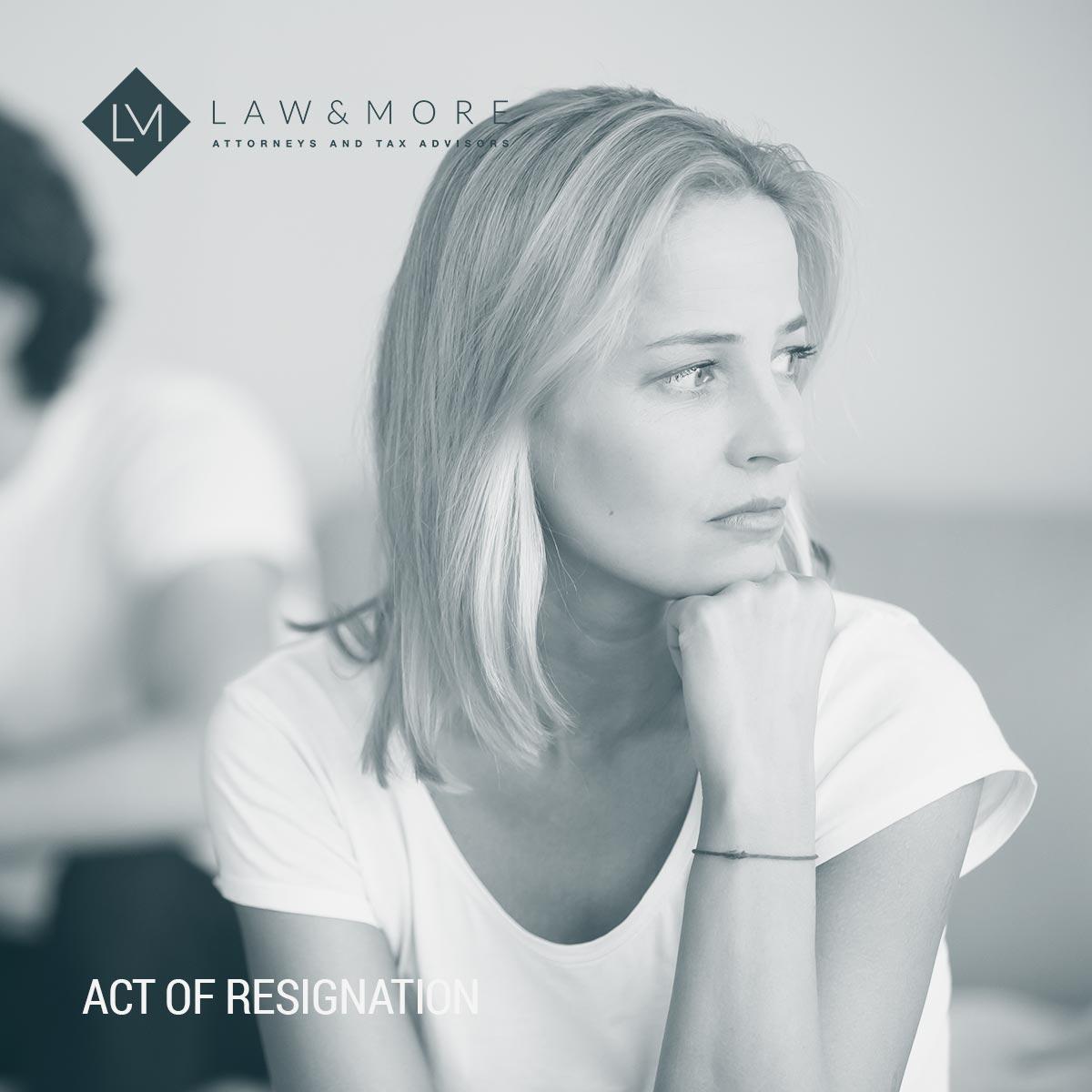 Закон за оставка