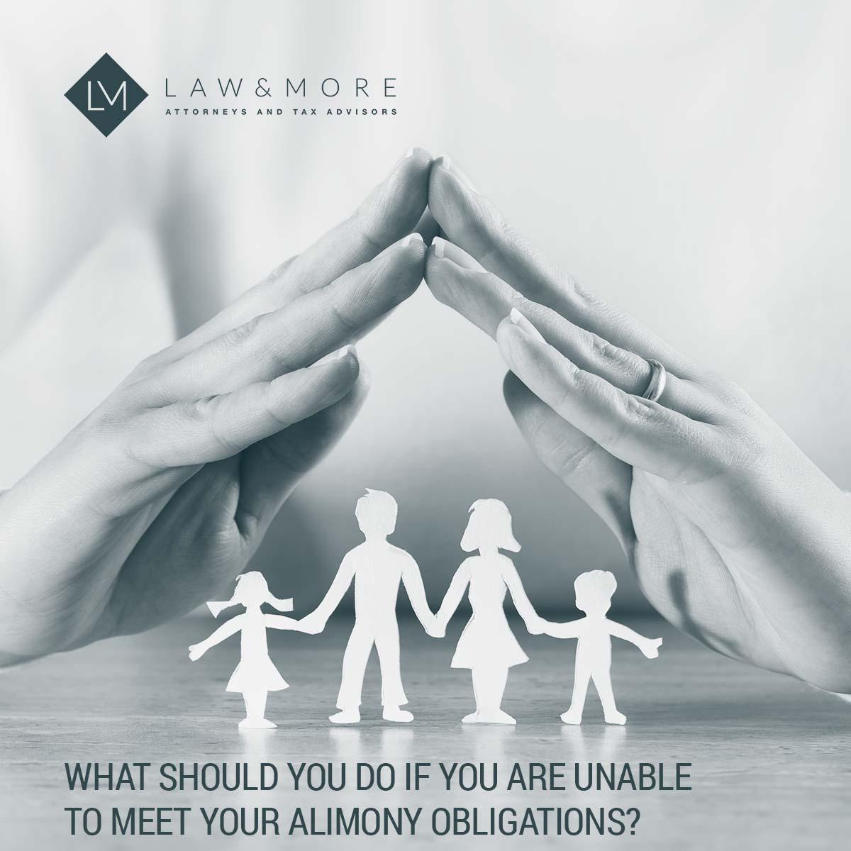Apa yang harus Anda lakukan jika Anda tidak dapat memenuhi kewajiban tunjangan Anda? Gambar