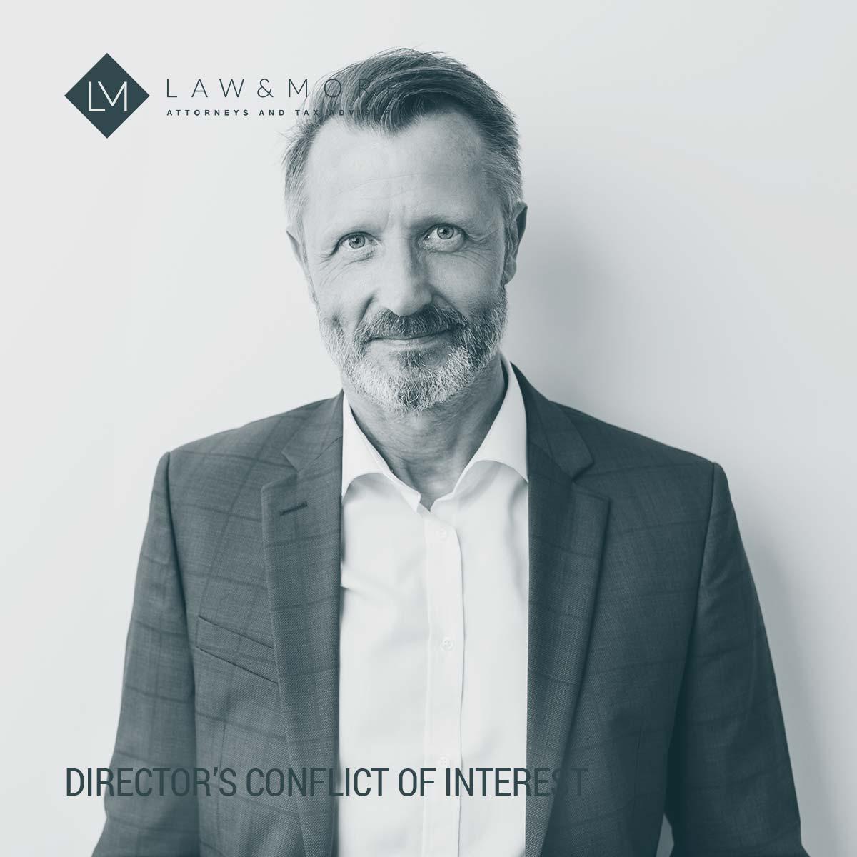 Gambar konflik kepentingan direktur