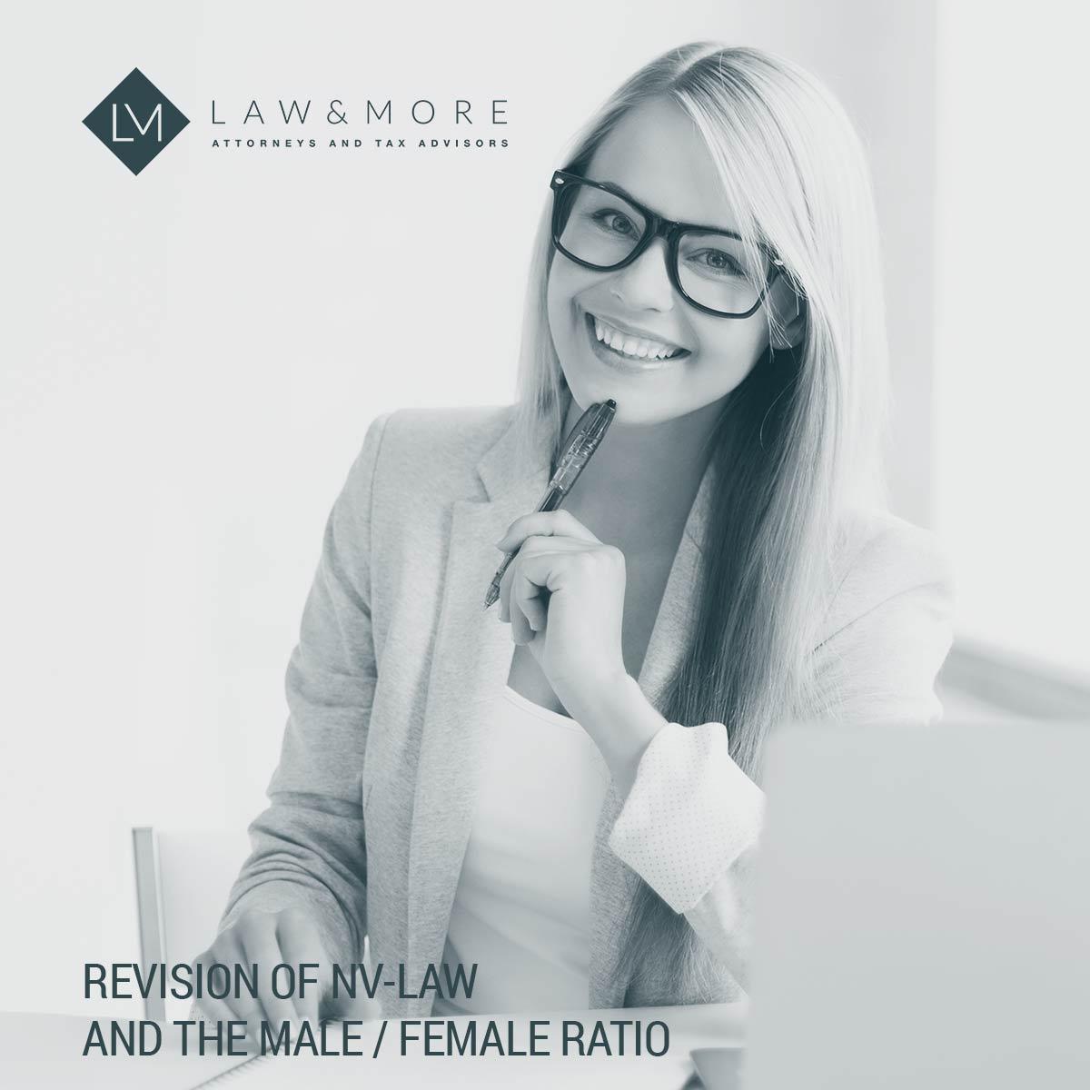 Ревизија на законот за НВ и односот маж / жена Слика